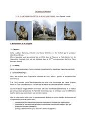 la statue dathena1
