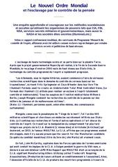 Fichier PDF le nouvel ordre mondial esclavage par controle pensee