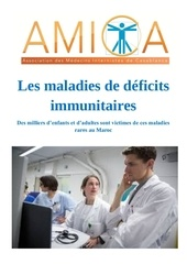 les maladies de deficits immunitaires