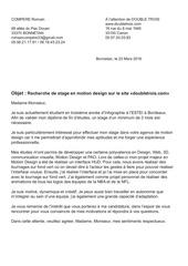 Fichier PDF lettre de motivation double trois