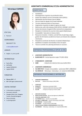 cv assistante commerciale 2