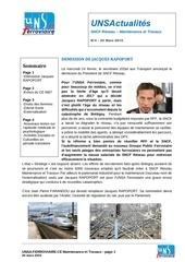 journal unsactualites maintenance et travaux n 4 24 mars 2016