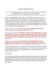 khotba cheikh abdelhadi attentats pdf