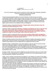 khotba cheikh abdelhadi sur la perseverance pdf