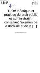 Fichier PDF traite de droit public