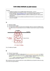Fichier PDF tuto chale matilda au point mousse