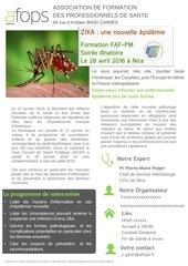 formation zika afops