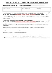 annexe 4 b inscription individuelle manche vtt ufolep