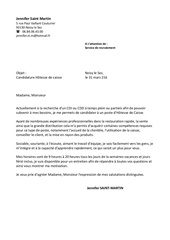 Fichier PDF lettre de motivation hotesse de caisse