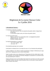 Fichier PDF reglement de la course ouroux color