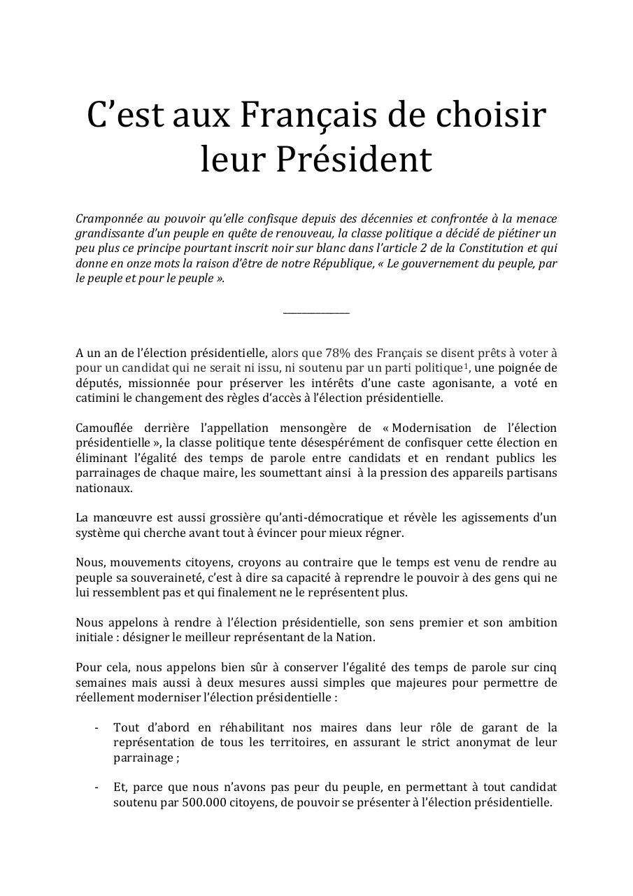 Tribune Mouvements Citoyens Version PDF.pdf - page 1/2