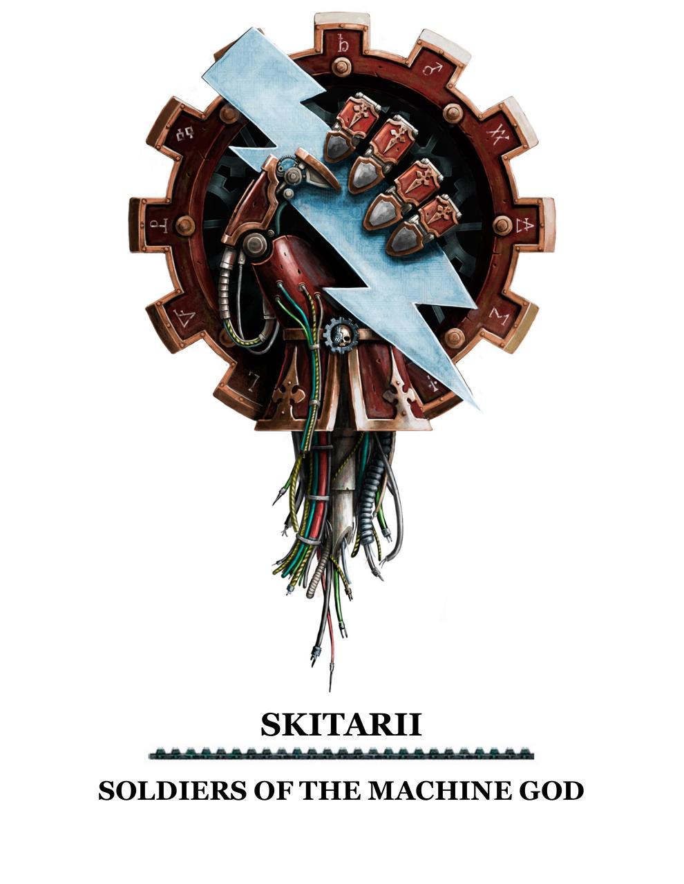 Codex Skitarii par Games Workshop Ltd - Wh40k - Skitarii