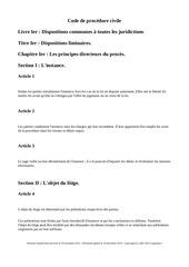 code de procedure civile
