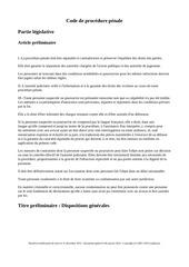 code de procedure penale 2016