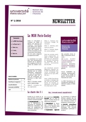 newsletter msh paris saclay 04 2016
