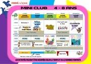 programme mini club 1