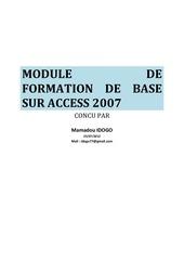 cours bd access