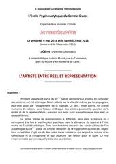Fichier PDF l artiste entre reel et representation ceret 6 et 7 mai