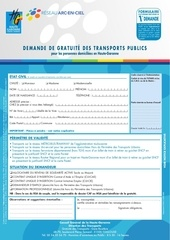 1698 formulaire demande gratuite transport 1