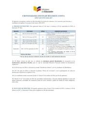 Fichier PDF cronograma escolar costa 2016 2017 versi n final rev aprobado