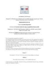 proposition de loi affaires sociales et sante