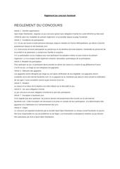 Fichier PDF reglement jeu concours facebook