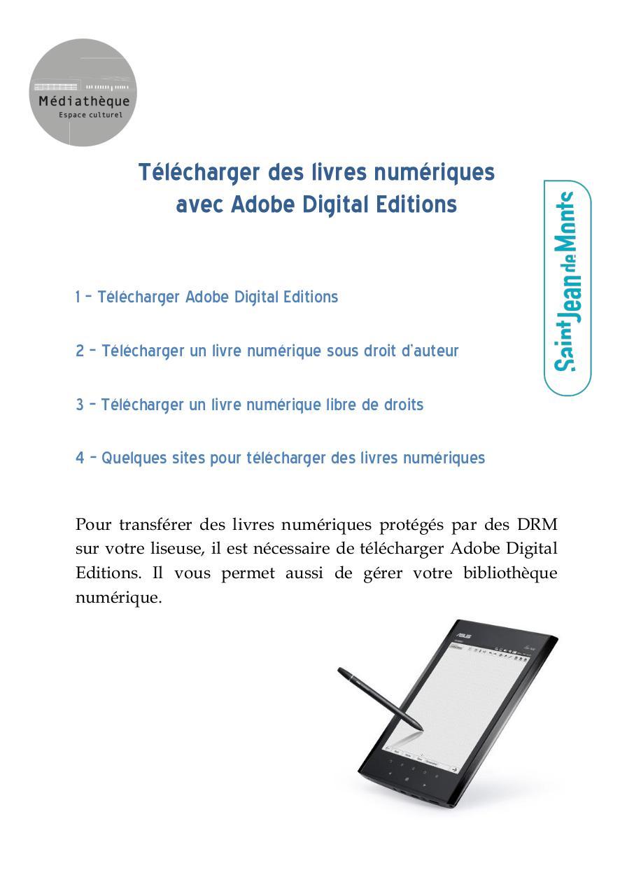 Guide Telecharger Un Livre Numerique Par Ophelie Bourreau