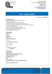 Fichier PDF offre fraiseur