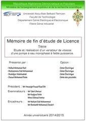 Fichier PDF redaction pfe