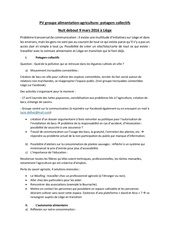pv groupe alimentation agriculture potagers collectifs