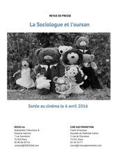 rp la sociologue l ourson selection