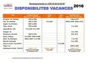 disponibilites vacances 2016 1