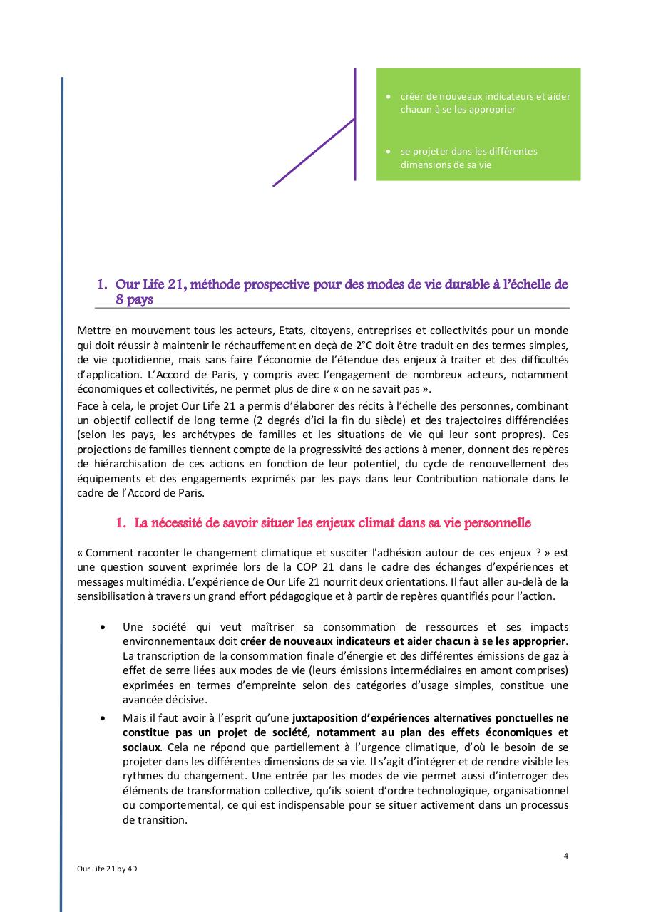 Our life 21 - rapport 2016_avril.pdf - page 4/40