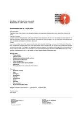 berlin mva recommendation letter