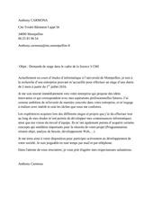 lettre motivation carmona anthony