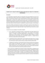 rapport enquete emploi formation groupe