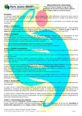 reglement concours du centre social de sangatte 62231