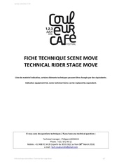 technical rider move cc 2016