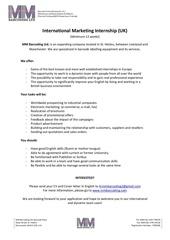 Fichier PDF marketing internship