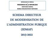 schema directeur de modernisation de l administration