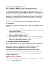 Fichier PDF student engagement support intern