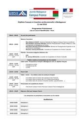 11 mai madagascar programme 17032016