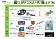 programme junior club fram nature ama 3