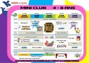 programme mini semaine copie