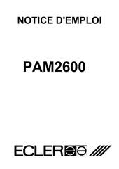 ampli ecler pam 2600