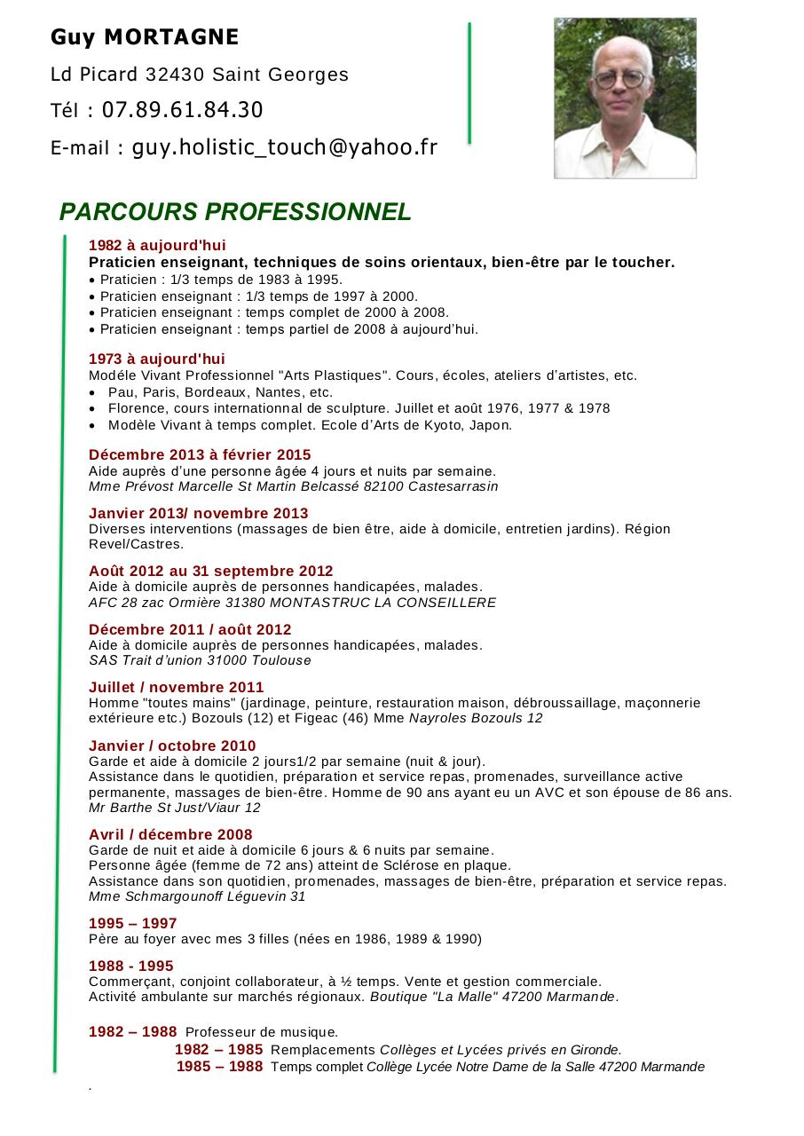 cv guy mortagne saint georges pdf par carlito