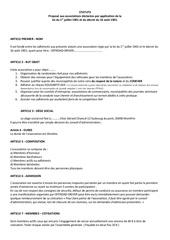 statuts offroad driver pdf