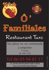 flyers a6 noir kebab
