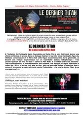 lecture le dernier titan de nadege prugnard 11 novembre 1 1 copie