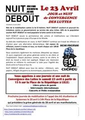 tract meeting concert convergence des luttes du 23 avril